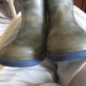 BOY TODDLER USED RUBBER BOOTS*FRESHIP